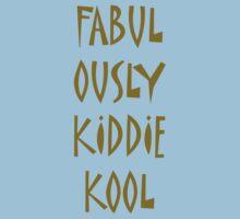 Fabulously Kiddie-Kool One Piece - Short Sleeve
