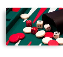 Games up! Canvas Print