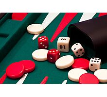 Games up! Photographic Print