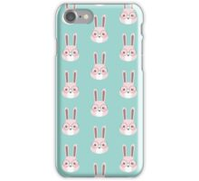 Bunny head iPhone Case/Skin