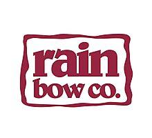 Rain Bow Co. - Red Photographic Print