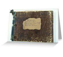 mendelssohn , piano duets , c.1880 Greeting Card