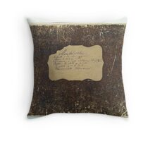 mendelssohn , piano duets , c.1880 Throw Pillow