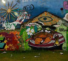 Icelandic Graffiti II by Louise Fahy