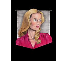 Gillian Anderson Portrait Photographic Print