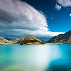 ? Moke Lake ?  - The Emerald Lake - by Jonathan Stacey
