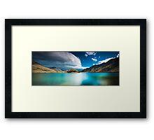 ∞ Moke Lake ∞  - The Emerald Lake - Framed Print