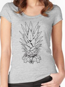 Pineapple Top Women's Fitted Scoop T-Shirt