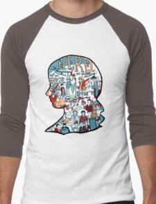 Nerd Girls: Set Phasers to Stunning Men's Baseball ¾ T-Shirt