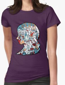 Nerd Girls: Set Phasers to Stunning Womens Fitted T-Shirt