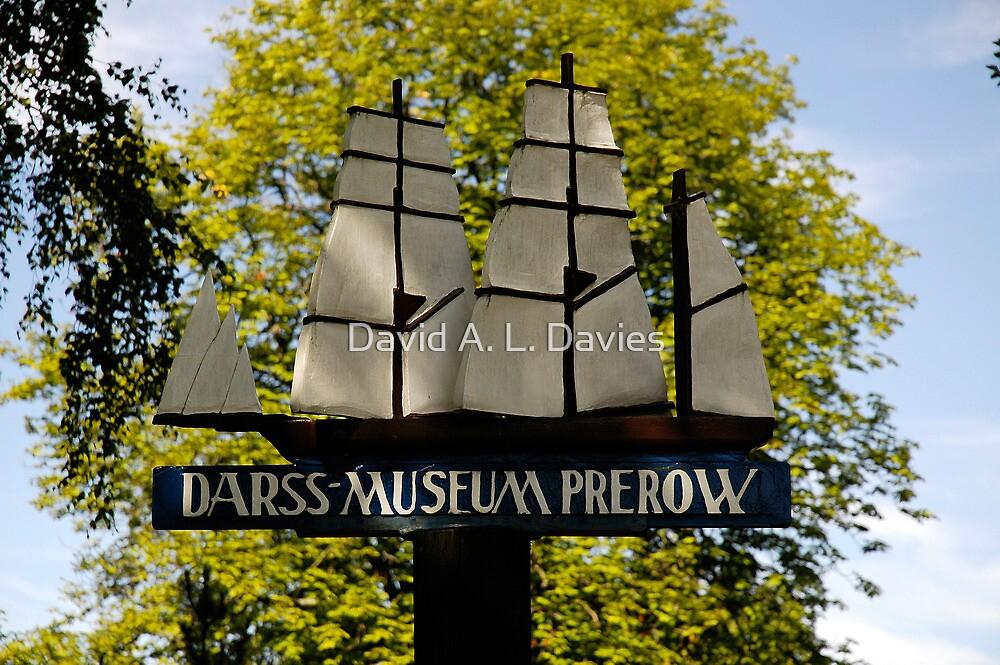 MVP91 Darss Museum sign, Prerow, Germany. by David A. L. Davies