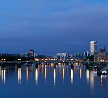 First Light in London by Garry Copeland