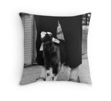 Are you my mommy?? Throw Pillow