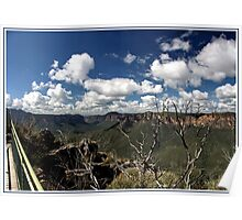 The Pulpit rock lookout view Poster