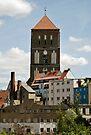 MVP83 Back-street Rostock, Germany. by David A. L. Davies