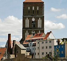 MVP83 Back-street Rostock, Germany. by David A. L. Davies