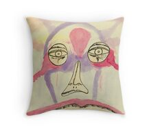 the mask within Throw Pillow