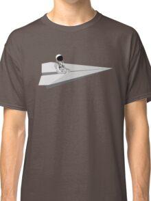 Murcury Astronaut Pilots A Paper Airplane Classic T-Shirt