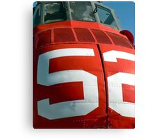 Seabat 52 RED! Canvas Print