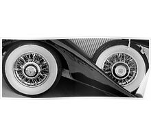 Wire wheels Poster