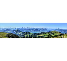 Mt Rigi HDR Panorama Photographic Print