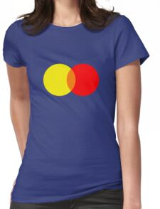 Circles Womens Fitted T-Shirt