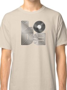 Record Love - Metallic - Chrome Classic T-Shirt