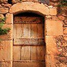 Provencal Door by Inge Johnsson