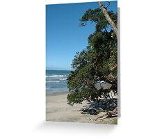 Sun,Sand, Sea & shade Greeting Card