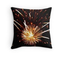 4th of July Fireworks III Throw Pillow