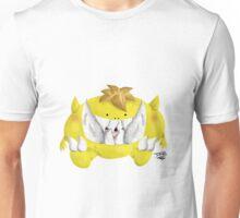 Cute Yellow Monster - Monstrico Amarillo  Unisex T-Shirt