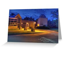 Bell Atlantic Science Building and Friedman Observatory Greeting Card