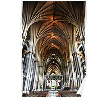 Cathedral, Bristol Poster