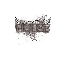 House Heart Photographic Print