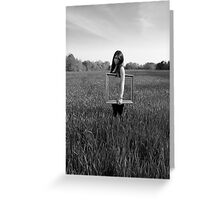 Frames series: Untitled 1 Greeting Card