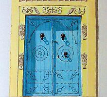 The Tunisian Door by Antonio  Luppino