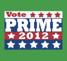 Vote Prime 2012 Kids Clothes