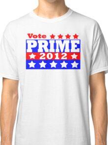 Vote Prime 2012 Classic T-Shirt