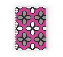 Infinity 8 - flora magenta Spiral Notebook
