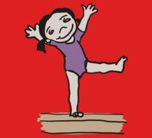 Gymnastics Girl Kids Clothes