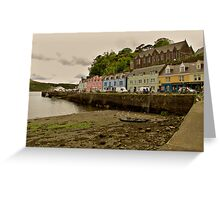 Portree Greeting Card