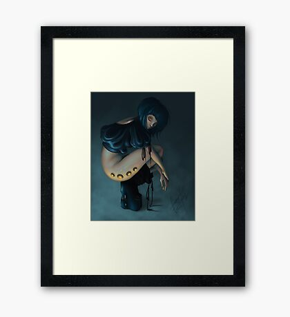 - DOLL - Framed Print