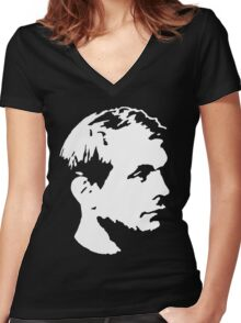 Jeffrey Dahmer Women's Fitted V-Neck T-Shirt