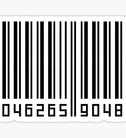 Barcode Horizontal Sticker