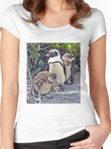 A Jackass Trio Women's Fitted Scoop T-Shirt