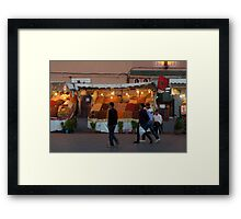 Curry and Spice Framed Print