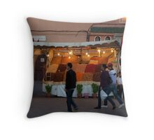 Curry and Spice Throw Pillow