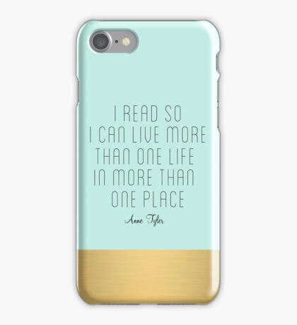 More Than One Life iPhone Case/Skin