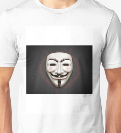 vendetta mask Unisex T-Shirt