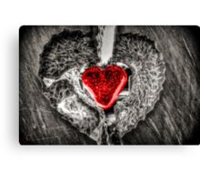 Heart of Rememberance Canvas Print
